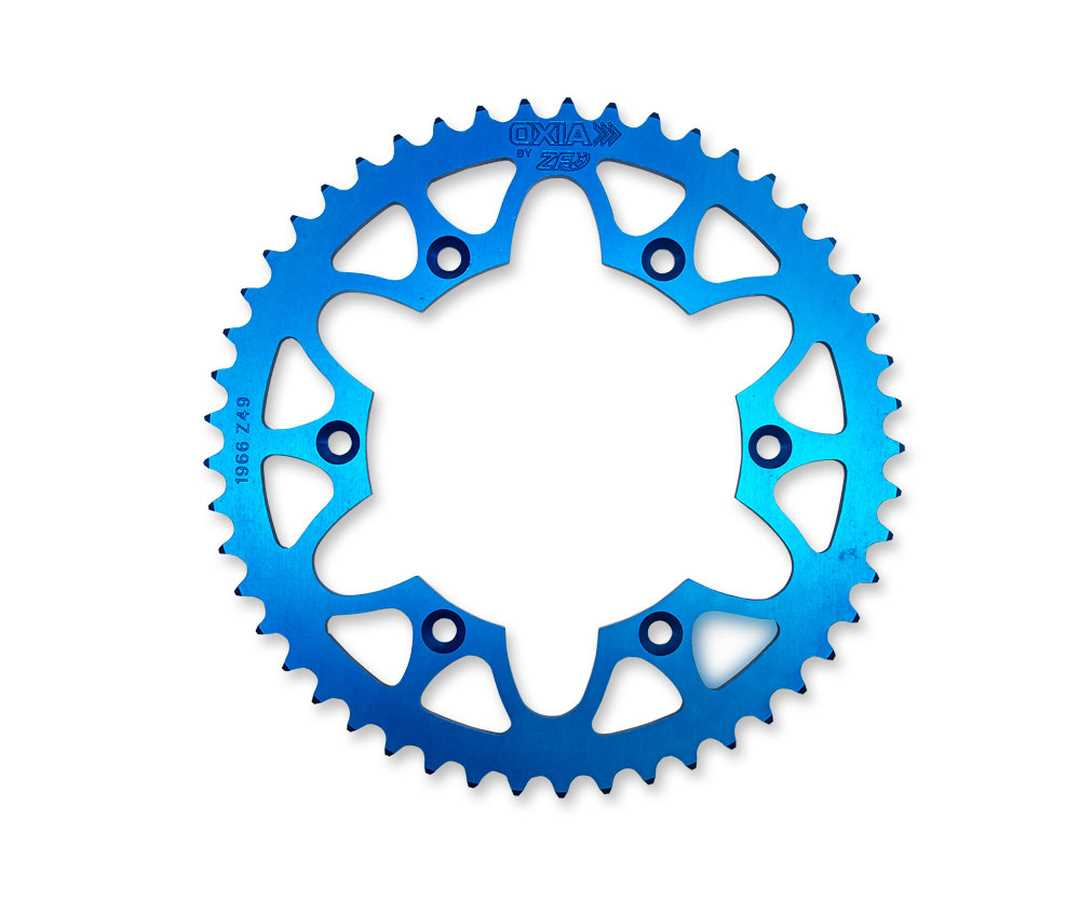 BLUE ALLOY REAR SPROCKET 49T